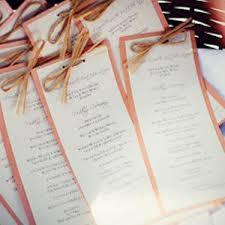 diy wedding ceremony programs how to make wedding ceremony programs 6 ideas daily wedding tips