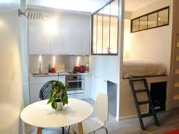 cuisine petits espaces amenager petit espace cuisine salon ration second