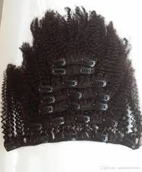 24 In Human Hair Extensions by Cheap Afro Curly Clip In Human Hair Extensions Virgin