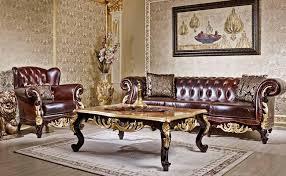 Leather Sofa Sets Apolyon Leather Classic Sofa Set