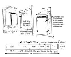 Box House Plans 14 Sparrow Resistant Bluebird Skylight Box House Plans Amazing