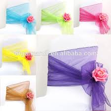 Chair Cover Sashes Chiffon Chair Sash Chiffon Chair Sash Suppliers And Manufacturers