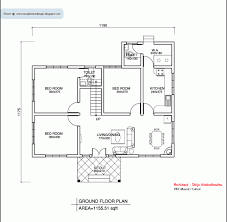 dazzling design 10 2 bedroom house plans kerala model plan style