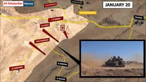 syrian desert syrian war update u2013 palmyra front january 22 2017 see sawing