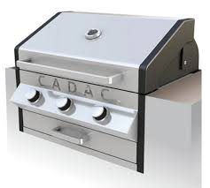 Built In Bbq Meridian Built In 4 Burner Gas Bbq Stainless By Cadac Sunsource