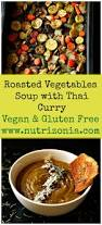 Roasted Vegetables Recipe by Roasted Vegetables Soup With Thai Yellow Curry Paste
