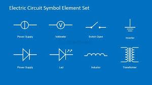 electronic circuit symbols clip art 25