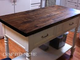 kitchen butcher block kitchen island with 2 butcher block