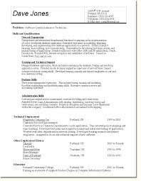 sample resume for quality control professional microbiologist