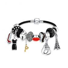 pandora glass bracelet images 925 silver secret shades handcuff charm enamel crystal glass bracelet jpg