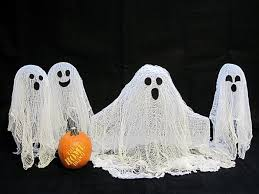Outdoor Halloween Decorations Ghosts by Diy Halloween Ghost Decorations Cute Halloween Door Decorations