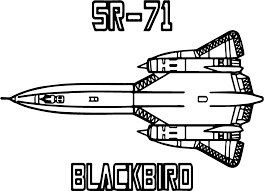 sr 71 blackbird space vehicle coloring page wecoloringpage