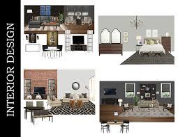 Interior Design Interior Design Portfolio Examples Professional