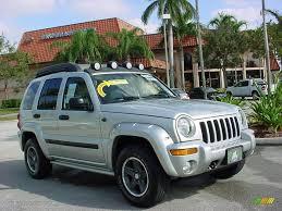 jeep 2004 2004 bright silver metallic jeep liberty renegade 1261593