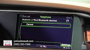 bluetooth audi palisades audi how to bluetooth audio