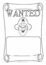 pirate wanted poster sentences activities and eyfs