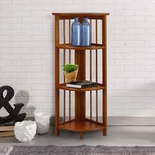 Natural Wood Bookcase Buy 3 Tier Stackable Folding Wood Bookcase Natural In Cheap With