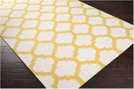 Area Rugs White Yellow And White Area Rug Visionexchange Co