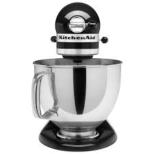 Kitchen Aid Artisan Mixer by Kitchenaid Artisan Stand Mixer 4 73l 325 Watt Onyx Black