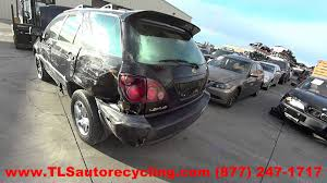 lexus rx300 air suspension parts parting out 2000 lexus rx 300 stock 5269bl tls auto recycling