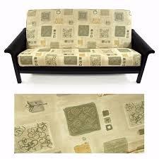 detalles acerca de versailles verde full size futon fabric cover