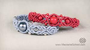 macrame bead bracelet images Musical big bead bracelet tutorial by macrame school jpg