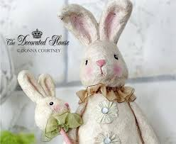 easter rabbits decorations 144 best rabbit decor images on easter ideas easter