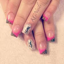 best 25 camo acrylic nails ideas on pinterest camo nail designs