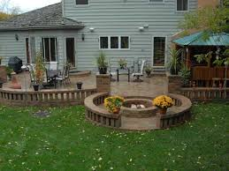 Bbq Firepit Mchenry Unilock Pit Bbq Lake County Il Bluestone Fireplaces