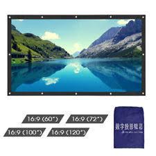 unbranded outdoor home projector screens ebay