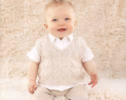 baby boy knit waistcoat sweater newborn to all by tanyasbunnytots