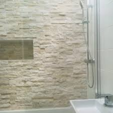 Bathroom Feature Wall Ideas Best 25 Stone Wall Tiles Ideas On Pinterest Small Shower Room
