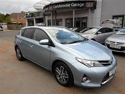 toyota auris used car used car toyota auris for sale on the isle of wight sixers