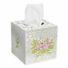decorative tissue box chic tissue box cover