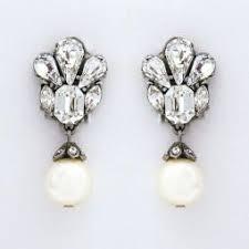 bridal clip on earrings clip on bridal earrings clip earrings wedding eveningwear