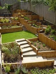 Steep Sloped Backyard Ideas Garden Design In Flitwick New Build Garden Design Steeply