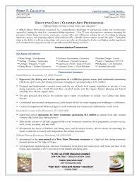 cook resume sample free resumes tips