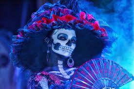 la catrina icon of death beauty and dia de los muertos