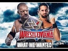 Wrestlemania Meme - triple h vs seth rollins at wrestlemania 32 memes youtube