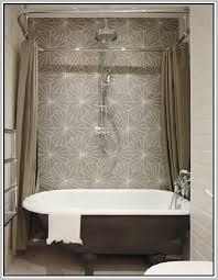 Design Clawfoot Tub Shower Curtain Rod Ideas Clawfoot Tub Shower Enclosure Home Design Ideas For Remodel 19