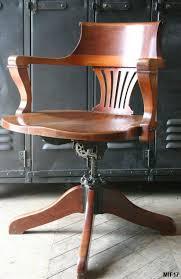 fauteuil bureau industriel fauteuil américain standard vers 1920