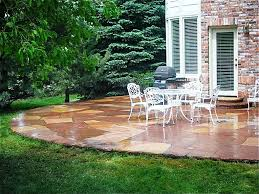 outstanding simple backyard patio designs with home design outdoor