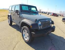 cheap jeep wrangler for sale new 2015 jeep wrangler unlimited sport anvil grey jeep