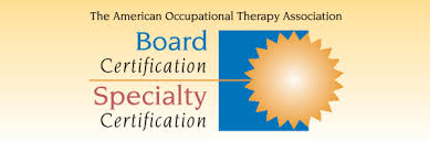 Nbcot Certification Letter Board And Specialty Certifications Aota