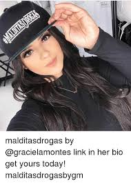 Bio Memes - makeup malditasdrogas by link in her bio get yours today
