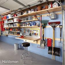 3 Perfect Ideas To Create Diy Garage Wall Shelves Rawsolla Com