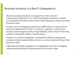 the key role of business analysis in project success and achieving bu u2026