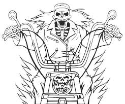 ghost coloring pages kids develop important skills