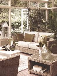 Sunroom Furniture Ideas by Seagrass Sectional Ottoman Pottery Barn Home Decor Pinterest