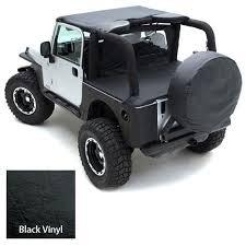 jeep wrangler cer top standard top 55 75 jeep cj5 m38a1 vinyl black smittybilt